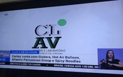 Cultura I Clav Live Sessions em destaque no Bom dia Portugal!