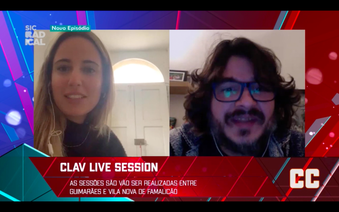 Cultura | Clav Live Sessions na SIC Radical