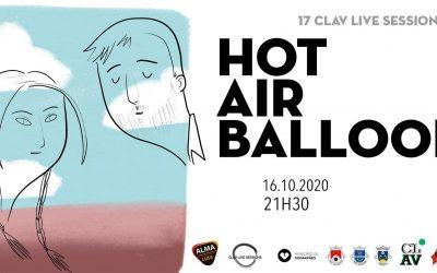 Cultura I 17ª CLAV Live Session // Hot Air Balloon /16 de outubro